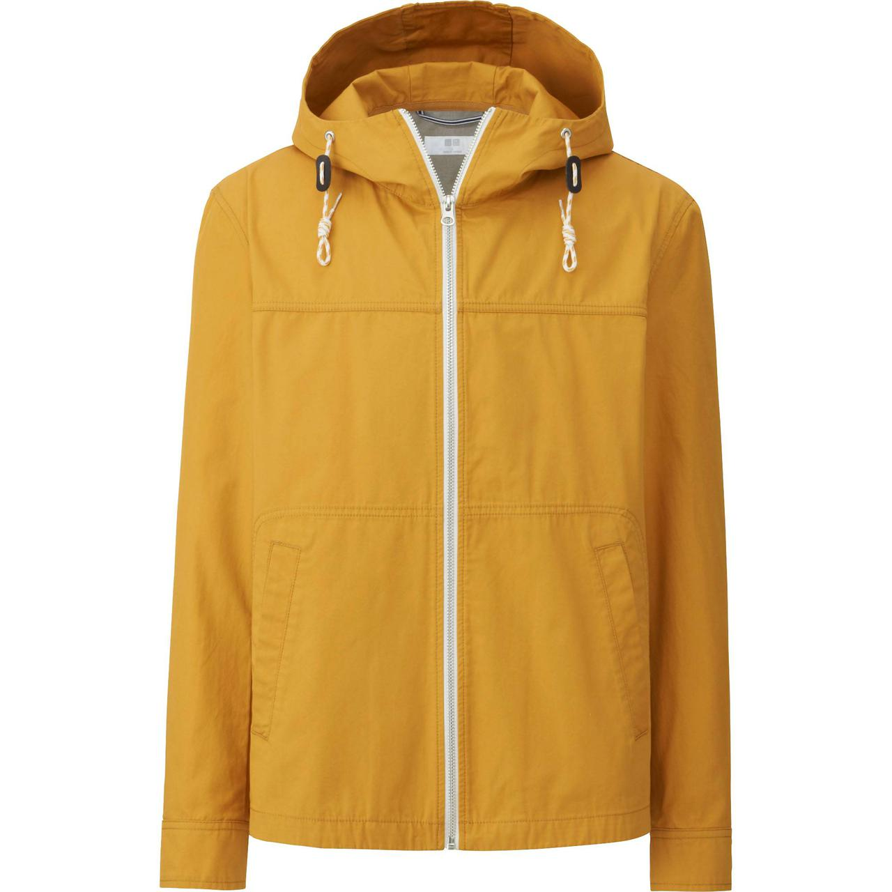 Куртка Uniqlo Men Cotton Zip-Up Hoodie YELLOW
