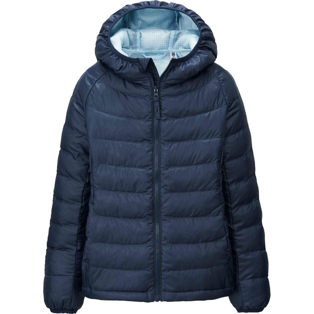 Куртка Uniqlo Girls Light Warm Padded NAVY