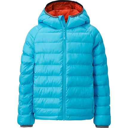 Куртка Uniqlo boys light warm padded parka BLUE64, фото 2