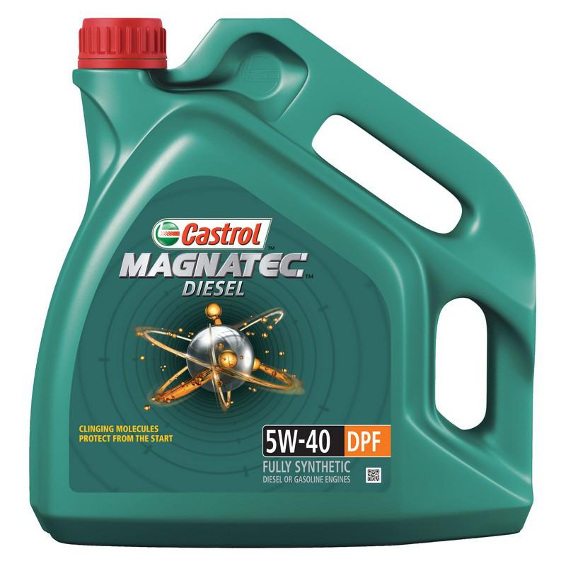 Моторное масло CASTROL Magnatec DPF 5W-40 5L (58775)