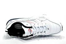 Кожаные белые кроссовки Bona, мужские (Бона), фото 2