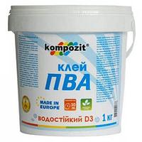 Клей ПВА (Д-3) Kompozit 5 кг