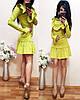 Платье с длинным рукавом декорировано воланами., фото 9