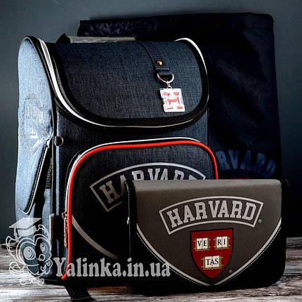 Рюкзак каркасный+пенал+сменка Harvard  555136 YES, фото 2