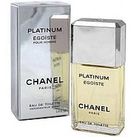 Chanel Egoiste Platinum (Шанель Эгоист Платинум), мужская туалетная вода, 100 мл