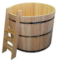 Купель для дачи из ольхи