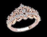 Кольцо  женское серебряное Корона 21175, фото 2