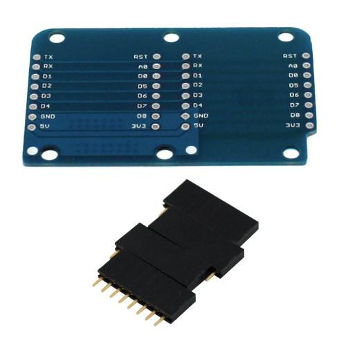 Модуль разветвитель Двойная плата Wemos D1 D1 mini 2000-03750
