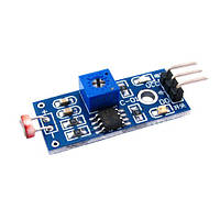 Датчик света, фотодиод, 3 pin, модуль Arduino   код: 10.02924
