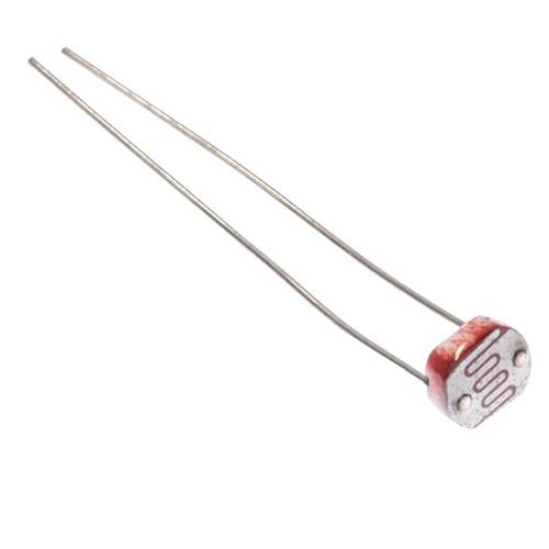 Фоторезистор, датчик освещенности 5мм GL5528 5528 для Arduino 2000-03536