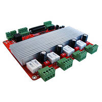 TB6560 4-осевой контроллер шаговых двигателей ЧПУ | код: 10.03002
