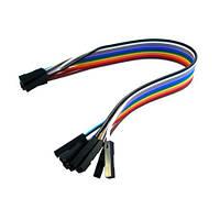 10x Dupont Дюпон кабель мама-мама 20см для Arduino | код: 10.00846