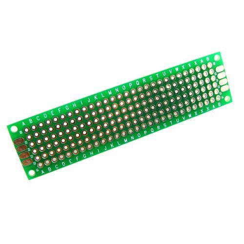 PCB 2x8 см двостороння друкована плата 2000-02619