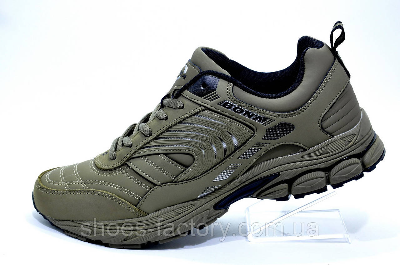 33f94a494 Мужские кроссовки Bona, Оливковые (Бона) - Интернет магазин спортивной обуви  Shoes-Factory