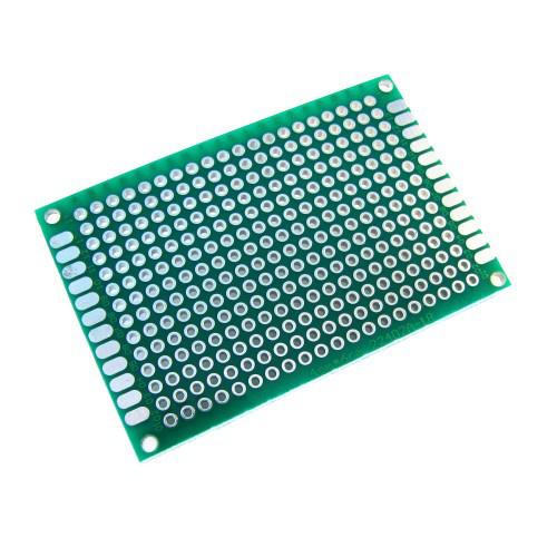 PCB 4x6 см двухсторонняя печатная плата 2000-02621