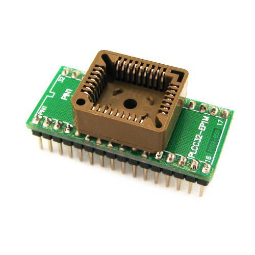 PLCC32 - DIP32 переходник, панелька для микросхем 2000-02157