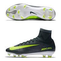 Футбольные мужские профессиональные бутсы Nike Mercurial SuperFly V CR7 FG, фото 1