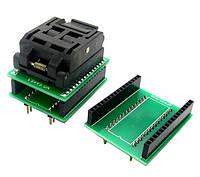 TQFP32 QFP32 LQFP32 - DIP28 DIP32 переходник панелька 2000-02741