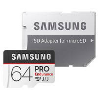 Карта памяти SAMSUNG microSDXC 64GB PRO Endurance UHS-I (R100,W30MB/s)