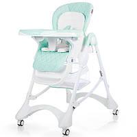 Детский стульчик для кормления CARRELLO Caramel  / Sky Blue