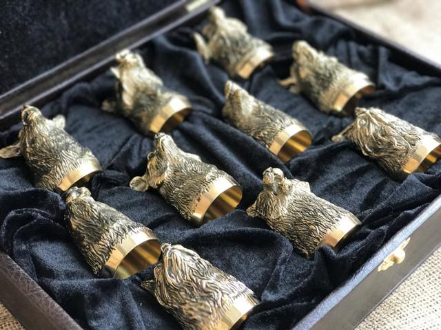 VIP наборы бронзовых стопок