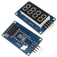 4-разрядный 7-сегментный индикатор под часы на драйвере TM1637 Arduino 2000-03476