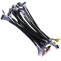 Набор из 18 LVDS кабелей, шлейфов для матриц 14-26 2000-03588