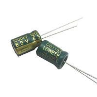 10x Конденсатор електролітичний алюмінієвий 1000мкФ 6.3 В 105С 2000-04306