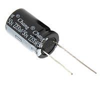 10x Конденсатор електролітичний алюмінієвий 2200мкФ 50В 105С 10.04323