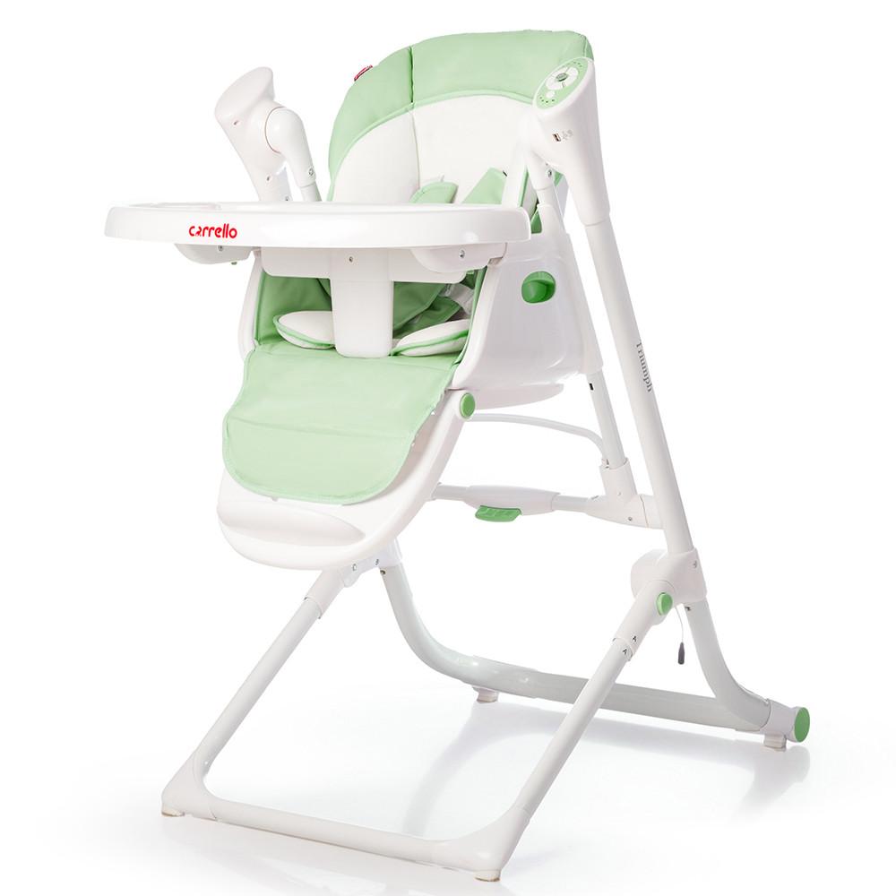 Детский стульчик для кормления CARRELLO Triumph / Lime Green