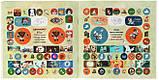 Гравити Фолз 200 + 200 наклейок Двійнята вперед! + Надзвичайно незвичайне стікери, фото 3