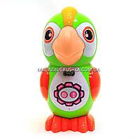 Интерактивная игрушка умный попугай арт. 7496. Детские аудиосказки, стихи, песни и скороговорки, фото 3
