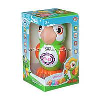 Интерактивная игрушка умный попугай арт. 7496. Детские аудиосказки, стихи, песни и скороговорки, фото 2