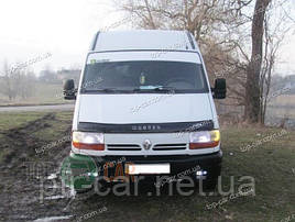 Дефлектор капоту, мухобойка Renault Master з 1998-2003 р. в VIP