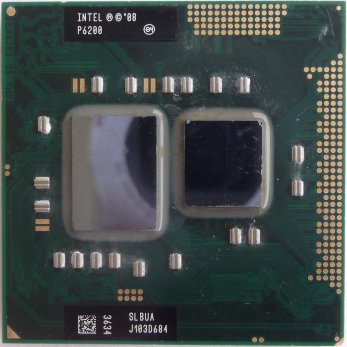 Процессор Intel Pentium P6200 3 МБ кэш-памяти, тактовая частота 2,13 ГГц
