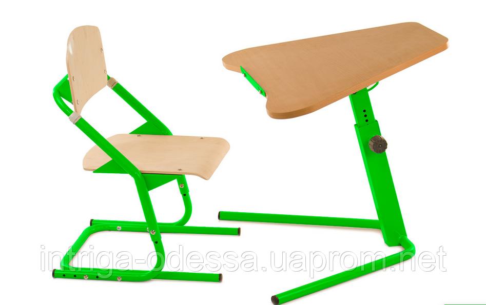 Школьная парта-трансформер  Трапеция и стул ученический ДСП