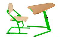 Школьная парта-трансформер  Трапеция и стул ученический ДСП, фото 1