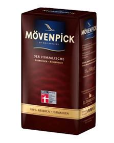 Кофе молотый из Швейцарии Movenpick Der Himmlische, 500 г.