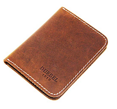 Картхолдер натуральная кожа винтажный коричневый, фото 2