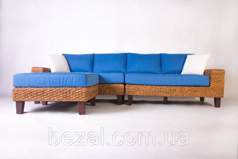 Модульный диван с пуфом Фйорд