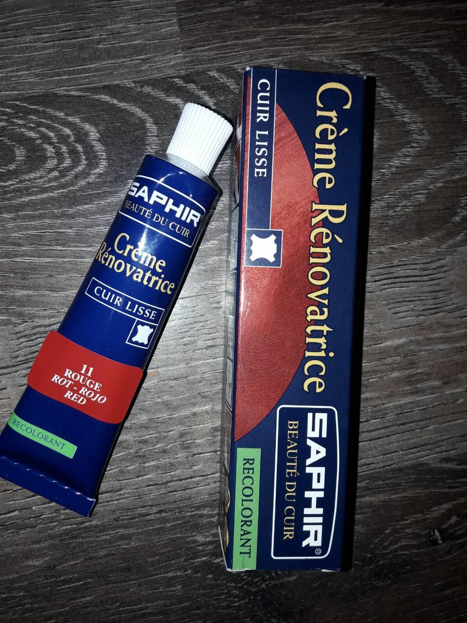 Жидкая кожа краска для кожи SAPHIR цв Красный