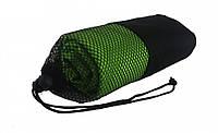 Полотенце туристическое из микрофибры 70*140 см цвет зеленый