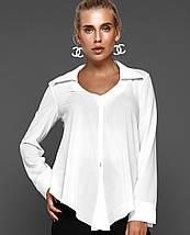 Женская блузка с асимметричным низом (Октавия jd), фото 2