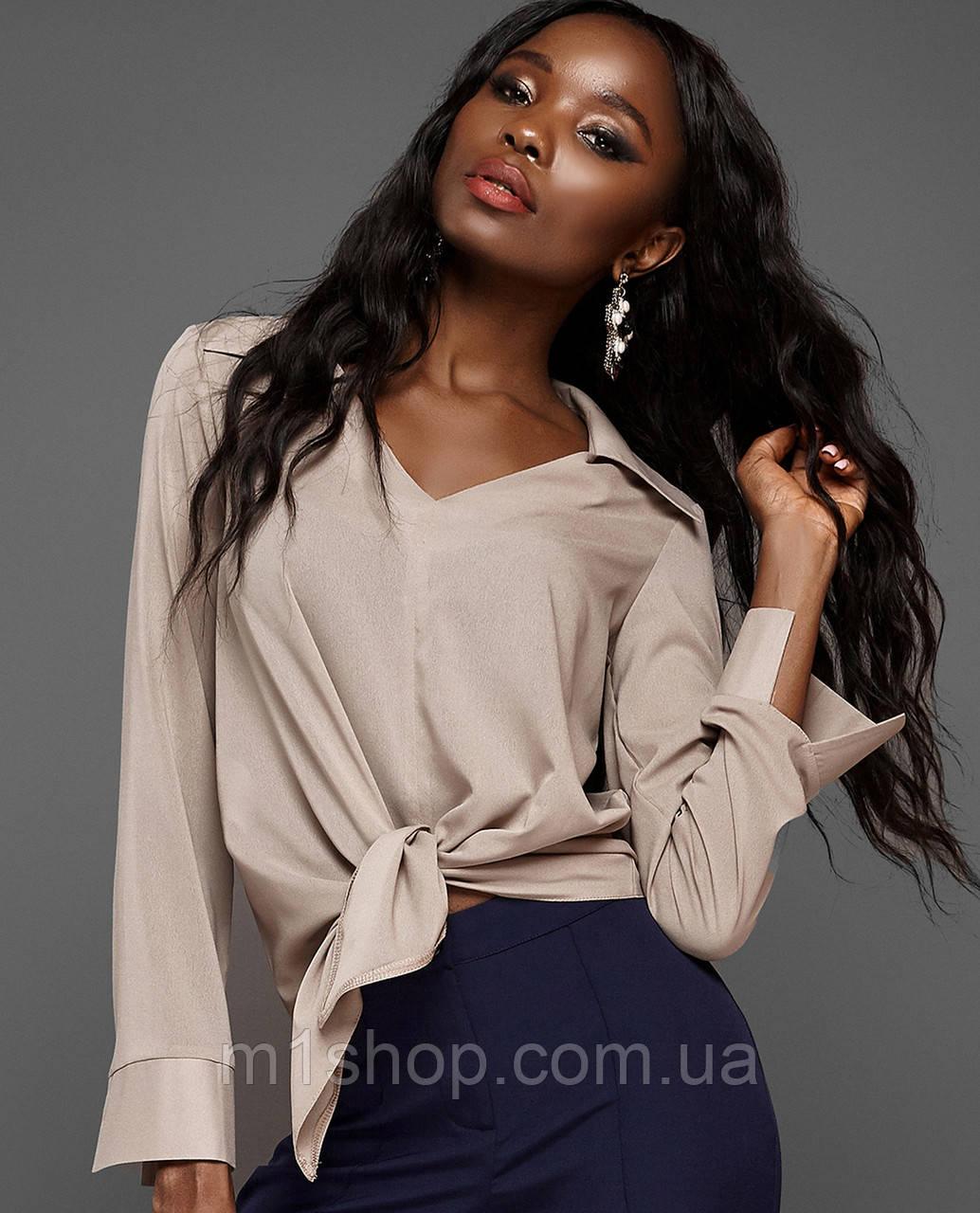Женская блузка с асимметричным низом (Октавия jd)