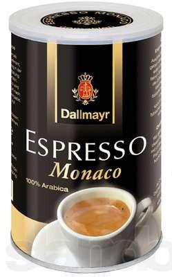 Кофе молотый Dallmayr Espresso Monaco 100% Арабика, ж/б 200 г.