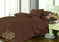 Комплект постельного белья DARK CHOCOLATE№154, сатин