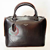 Стильная женская сумка CELINE кожа бронзового цвета KVL-833922, фото 1