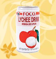 Сік Лічі Фоко, Foco, Lychee Juice, 350ml, Mo