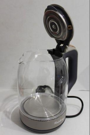 Чайник Rainberg стеклянный корпус с подсветкой 6206