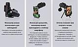 Мощный монокуляр 40x60 с чехлом, треногой и клипсой для смартфона, фото 3